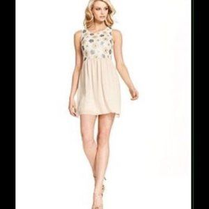 Kensie Sequin Floral Sleeveless Dress Size. M